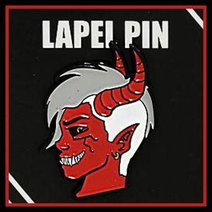 DEVIL BOY ENAMEL PIN